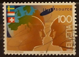 SUIZA 1994 The 50th Anniversary Of The Federal Sports School, Magglingen. USADO - USED. - Suiza