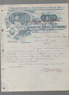 Alicante (Espagne) Lettre à Entête  ZARAGOZA LLACER HERMANOS  Vinos Del Pais 1910 (PPP14541) - Spain