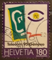 SUIZA 1995 TELECOM `95 Geneve. USADO - USED. - Suiza