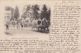 CPA  61  RESENLIEU Prés De Gacé, Le Jour De La Fête  Cachet Sur Sage N°102 St Cornier Des Landes 1901 - France