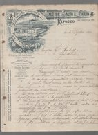 Riposto (Sicilia,, Italie) Lettre à Entête  SALV. DE SALVO & FIGLIO 1913 (PPP14542) - Italie