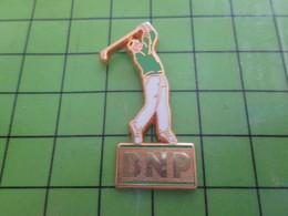 313K Pin's Pins / Beau Et Rare : Thème SPORTS / GOLF GOLFEUR BNP - Golf