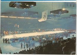 CPSM,Th. Sport , N° AB.6, Grenoble Ville Olympique D' Hivers -1968, Stade De Glace Ed. André - Jeux Olympiques