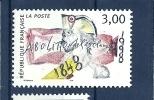 """3148 ** ( """"150e Ann. De L'abolition De L'esclavage) Cote 1,40€ - France"""