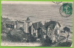 HOULGATE - Les Villas Et La Mer Carte Circulé 1915 - Houlgate