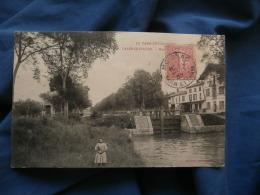 Valence D'Agen  Moulin Sur Le Canal  Animée  : Fillette En 1er Plan - Ed. Galan - Circulée 1907 - R232 - Valence