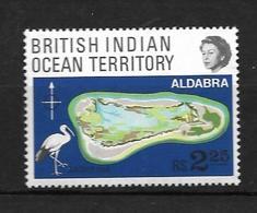 OCEAN INDIEN 1969 ALDABRA  YVERT N°31 NEUF MNH** - Territoire Britannique De L'Océan Indien