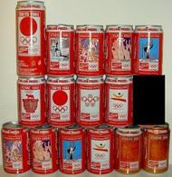 CAN-GRANDE BRETAGNE-1992-BARCELONA 1992 (15 Cans) - Blikken