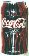 """CAN-USA-1996-""""CONTOUR CAN"""" - COCA COLA - MILIEU DE BOUTEILLE RETRO (1996/3577) - Blikken"""