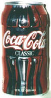 "CAN-USA-1996-""CONTOUR CAN"" - COCA COLA - MILIEU DE BOUTEILLE RETRO (1996/3577) - Cans"