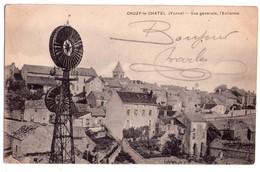2319 - Cruzy Le Chatel ( 89 ) - Vue Générale , L'Eolienne - - Cruzy Le Chatel