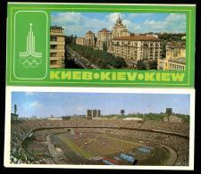 1 Incomplete Set Kievese 1980 Stadium Football - Stadiums