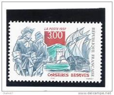 France 3103   Neuf ** ( Corsaires Basques  ) Cote 1,40€ - France