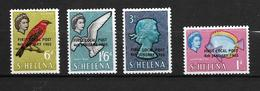 SAINTE-HELENE 1965 LOCAL POST-POISSONS-OISEAUX-YVERT N° NEUF MNH** - Sainte-Hélène