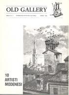 Modena, 10 Artisti: Bellei, Cappelli, Forghieri, Graziosi, Jodi, Magnavacca, Malatesta, Miti Zanetti, Salvarani, Valli. - Libri, Riviste, Fumetti