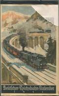 Reichsbahn-Kalender 1941 - Vollständiges Exemplar - Herausgegeben Vom Pressedienst Der Deutschen Reichsbahn - Konkordia - Kalender