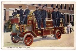 2321 - New-York City ( U.S.A. ) - Engine N°239 - ( Pompiers Américains ) - New York City