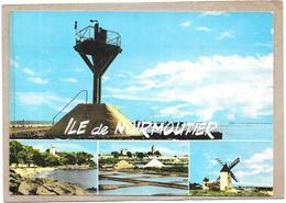 ILE De NOIRMOUTIER - 85 - MULTI-VUES  - 4 Vues De L'Ile - TON1/BORD - - Ile De Noirmoutier