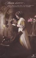Fantasiekaart Met Koppel /  LUTTICH / Met  Bezettingspostzegel OC 11 - Couples