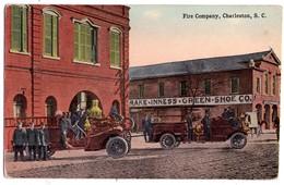 2323 -  ( U.S.A. ) - Charleston ( Caroline Du Sud ) - Fire Company - - Charleston