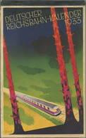 Reichsbahn-Kalender 1933 - Vollständiges Exemplar - Herausgeber Dr. Ing. Dr. Hans Baumann Berlin - Konkordia Verlag Leip - Kalender