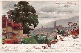 263810Freiburg, Gruss Aus 1898 - Freiburg I. Br.