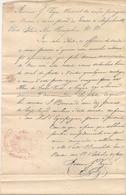 PORTUGAL - 1837  Consul Da Nacao Portuguesa En Boston, Rhode Island.. Cert Of No Plague To Ship Travelling To CABO VERDE - Historical Documents