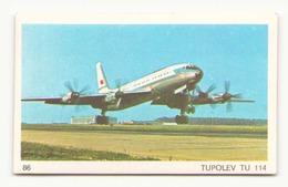 IMAGE N° 86 TUPOLEV TU 114 - Vieux Papiers
