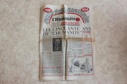 L'HUMANITE DIMANCHE -SPECIAL CINQUANTENAIRE- - Journaux - Quotidiens