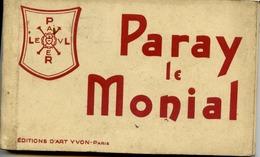 71 PARAY-LE-MONIAL - Album Carnet De 18 Cartes Postales Détachables - Paray Le Monial