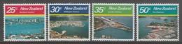 SERIE NEUVE DE NOUVELLE-ZELANDE - PORT DE LA NOUVELLE-ZELANDE N° Y&T 770 A 773 - Ships