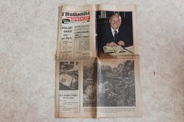 L'HUMANITE DIMANCHE --adieu A MAURICE THOREZ - Journaux - Quotidiens