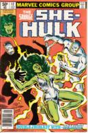 She-Hulk Vol. 1 No. 12 January 1981 Reason And Rage! - Marvel
