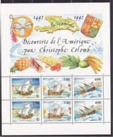 1992 Monaco EUROPA CEPT EUROPE Foglietto MNH** Souv. Sheet - Europa-CEPT