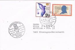 29684. Carta MÖSSINGEN (Alemania Federal) 1989. Bad Sebastiansweiler. Balneario - [7] República Federal