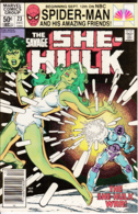 She-Hulk Vol. 1 No. 23 December 1981 The She-Hulk War! - Marvel