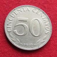 Bolivia 50 Centavos 1972 KM# 190  Bolivie - Bolivia