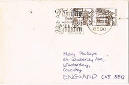 29686. Carta NURNBERG (Alemania Federal) 1981 To England - [7] República Federal