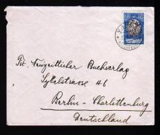 30 Rp. Auf Brief Ab Vaduz Nach Berlin - Liechtenstein