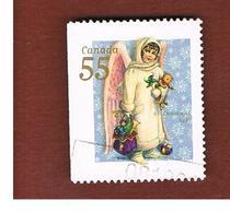 CANADA   -  SG 1950  -  1999 CHRISTMAS: ANGEL WITH TOYS      -      USED - 1952-.... Regno Di Elizabeth II