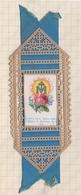 8AK2344 Image Religieuse Pieuse MARQUE PAGE DECOUIS PAPIER ET RUBAN - Images Religieuses