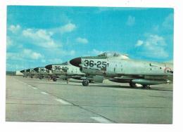 AEREONAUTICA ITALIANA - SCHIERAMENTO DI AVIOGETTI FIAT NORTH- AMERICAN F 86 K  - NV FG - 1946-....: Modern Era