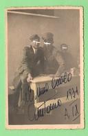 Miliari Regio Esercito Foto Con Dedica 1931 - Anonyme Personen