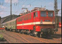 Elektro -  Schnellzuglokomotive  211 058-3 - Eisenbahnen