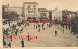 30 // GALLARGUES     La Place De La Mairie, Après La Course   Edit Garnier, / TAUROMACHIE - Gallargues-le-Montueux
