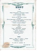 PALAIS D' ORSAY -  MENU Du 28 JUILLET 1913 - Menu