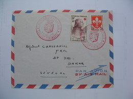 Enveloppe       La Croix Rouge   1959 - Marcophilie (Lettres)