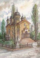 CPA BUCHAREST- PRINCESS BALASA CHURCH, ILLUSTRATION - Roumanie