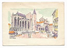 La Basilique Saint Maurice D'épinal Par Pierre LEPAGE Imagerie Pellerin - 1960 - Epinal