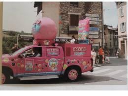 """Carte Postale Caravane Publicitaire TDF 2018 - """" Haribo """"  Pont En Royans - Cyclisme"""